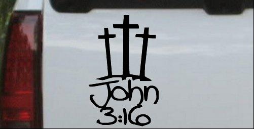 3 Crosses With John 3:16