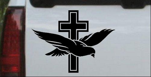 Dove With Cross