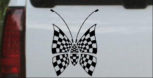 Race Flag Butterfly