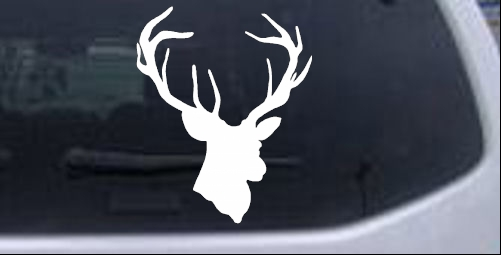 Big Buck Hunting And Fishing car-window-decals-stickers