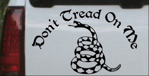 Gadsden Flag Dont Tread On Me