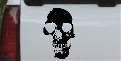 Skull Shadow Decal