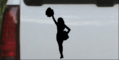 Cheerleader Decal