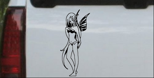 Cute Pixie Fairy Bikini Decal