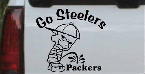 Go Steelers Decal