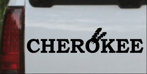 Cherokee Decal