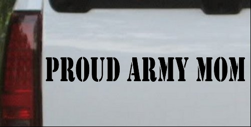 588 Best Proud Army Mom Images On Pinterest: PROUD ARMY MOM Decal Car Or Truck Window Laptop Decal