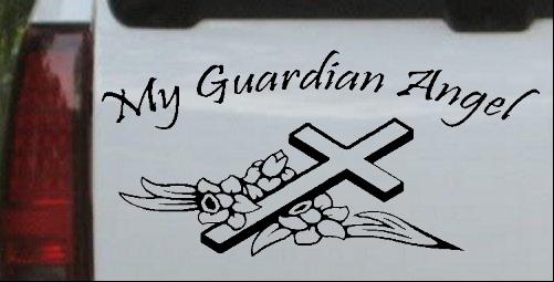My Guardian Angel Decal