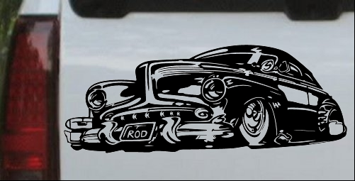 Classic Ridge Runner Car Decal