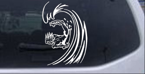 Surfer Decal Sports car-window-decals-stickers