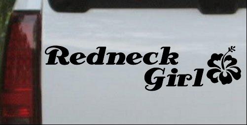 Redneck Girl Hibiscus Flower