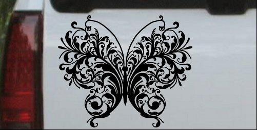 Swirl Butterfly