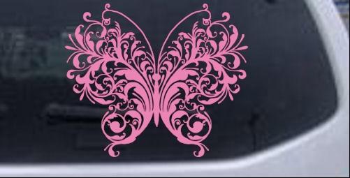 Swirl Decal Car or Truck Window Laptop Decal Sticker