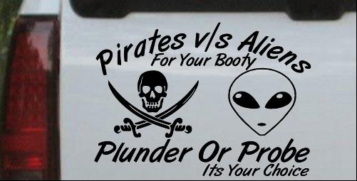 Pirates Verses Aliens
