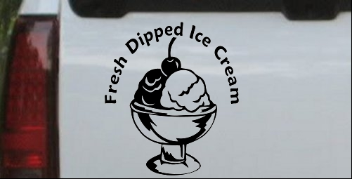 Fresh Dipped Ice Cream