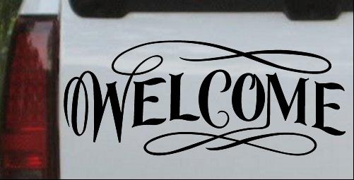 Welcome Swirls