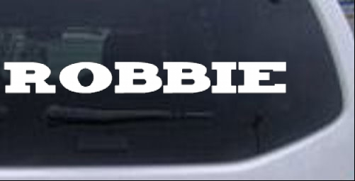 Robbie Names car-window-decals-stickers