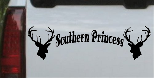 Southern Princess With Deer