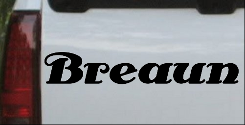 Breaun antsy