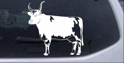 Cow Animals car-window-decals-stickers