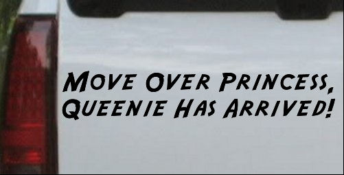 Queenie Has Arrived