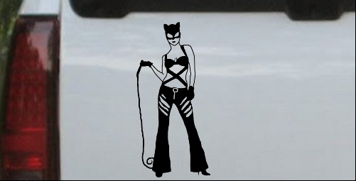 Cat Woman with Whip