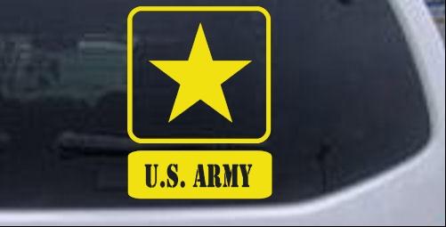 US ARMY LOGO Car or Truck Window Laptop Decal Sticker