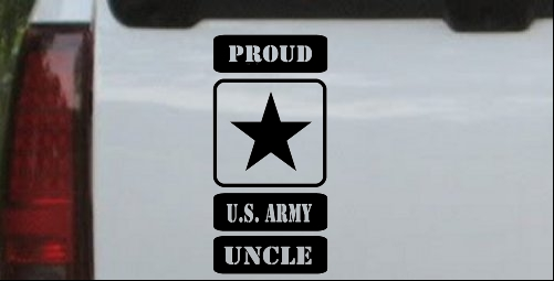 Proud Army Logo Uncle