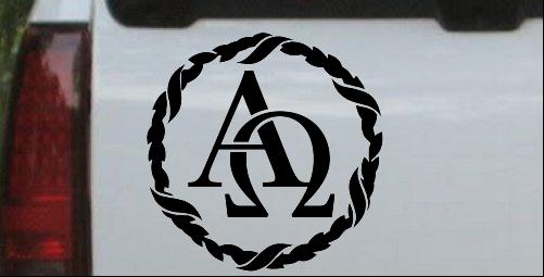 Alpha Omega Monogram