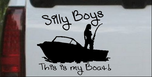 Silly Boys This Is My Boat