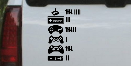 Video Game Controller Keeping Count