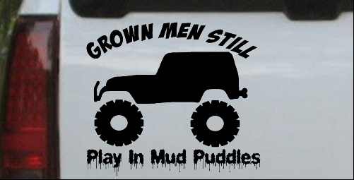 Grown Men Still Play In The Mud Jeep