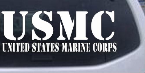 Usmc united states marine corps car or truck