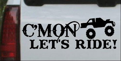 Cmon Lets Ride