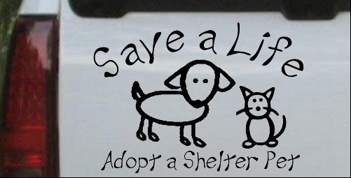 Save a Life Adopt a Shelter Pet
