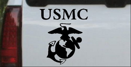 USMC With Marine Logo