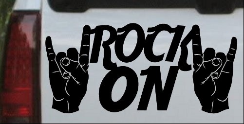 Rock On With Hands