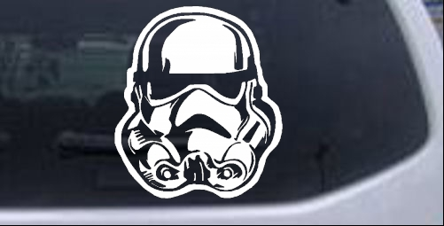 Star Wars Stormtrooper Car Or Truck Window Laptop