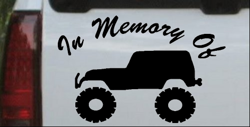 In Memory Of Jeep