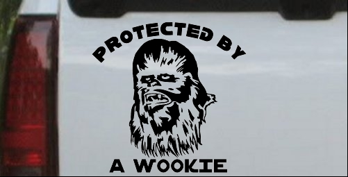 Star Wars Protected By A Wookie
