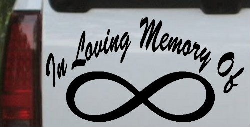 In Loving Memory Of Infinity