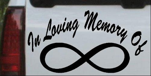 In Loving Memory Of Infinity
