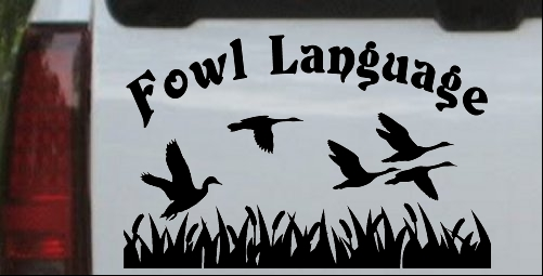 Fowl Language Duck Pond