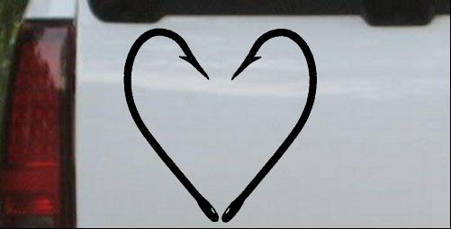 Fish Hook Heart