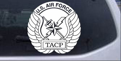 US Air Force TACP Military car-window-decals-stickers