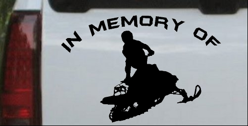 In Memory Of Snowmobile