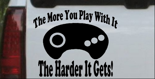 The More You Play With It Sega Video Games