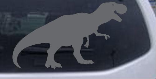 T rex car or truck window laptop decal