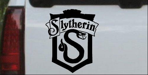 Harry Potter Slytherin Crest