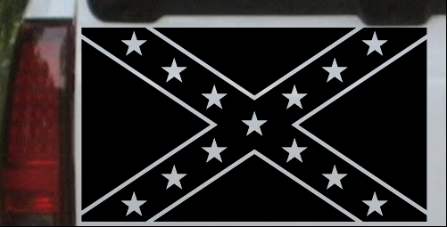 Confederate Southern Rebel Battle Flag